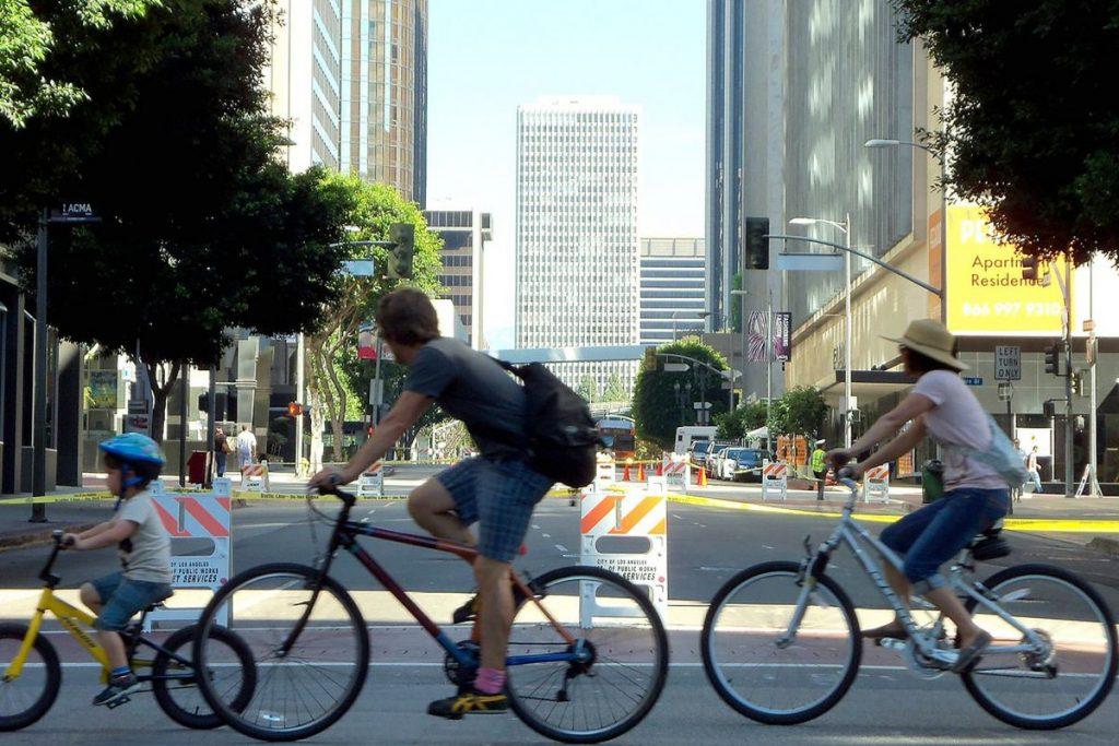 Bicycle licenses in Los Angeles