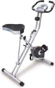 Exerpeutic Folding Magnetic Upright Exercise Bike 1200