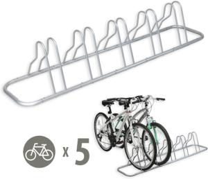 SimpleHouseware 5 Bike Storage Stand