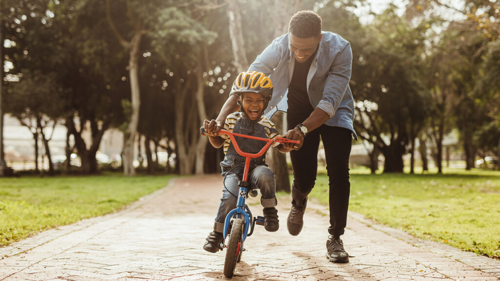Teach Cycling to Your Child in 5 Steps